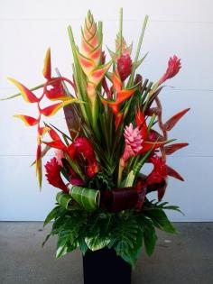 tropical arrangement